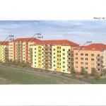 Výstavba bytových domů - Praha