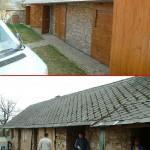 Před a po rekonstrukci 2 - chata